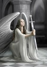 NEW THE BLESSING ANGEL ANNE STOKES FANTASY ART BIRTHDAY GREETING CARD