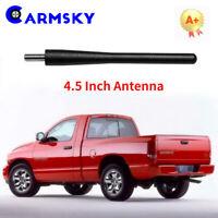 "10-19 Dodge Ram Truck 3500 7/"" Black Spring Stainless AM//FM Antenna Mast Fits"