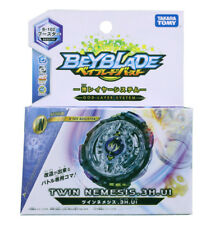 1x Takaratomy Beyblade Burst (B-102) Twin Nemesis.3H.UI Attack Booster Top Pack