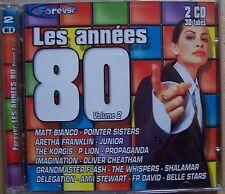 #) C20- LES ANNEES 80 volume 2 -  2 CD - 30 tubes
