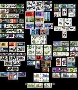EBS Great Britain - Fabulous 1960s Mint Collection! - All MNH**!! - Must See!!!
