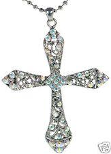 Premier Designs Angelina Crystal Cross Necklace '
