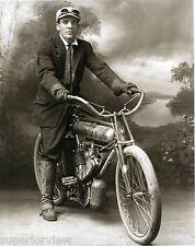 1910 Marsh Metz Motorcycle Riding Gloves Boots Googles In Studio MUST SEE