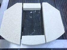 Brennraum Boden Bodensteine Vermiculite Steine für Polar 8 Serie 2 Oranier Ofen