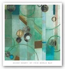 ART PRINT Of This World No 17 Aleah Koury