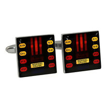 Retro 1980s Car Voice Lights Cufflinks Gift Boxed NEW