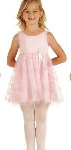 NWT Body Wrappers Princess Aurora glittered dance dress 2631 Empire pink girls