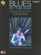 Buzz Feiten Blues By The Bar Master Class Learn Play Guitar Music Book & CD