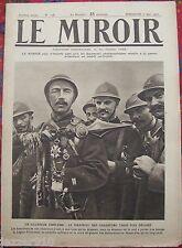 LE MIROIR  n°128 ¤ 07/05/1916 ¤ LE DRAPEAU DES CHASSEURS 3 FOIS DECORE