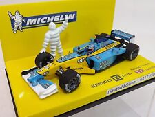 1:43 Minichamps Limited Edition Michelin Renault F1 Team R202 J. Button