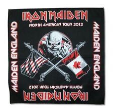 "IRON MAIDEN  Heavy Metal Band EDDIE THE TROOPER 21""x21"" BANDANA HEADWRAP BANNER"