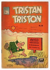 TRISTAN TRISTON #68 Un Acto Animal, LA PRENSA Mexican Comic 1961