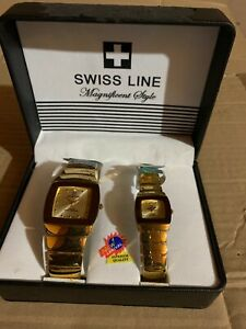 Swiss Line / Magnificent Style / Quartz His & Hers watch Set