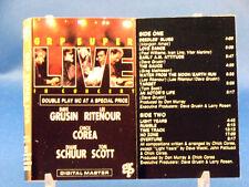GRP SUPER LIVE - In Concert - Dave Grusin/Lee Ritenour/Chick Corea/Diane Schurr+