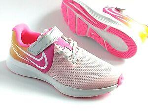 Nike Star Runner Girls Shoes Trainers Uk Size 10 - 2   kids  CN8515 001