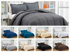 Scala Bedding Egyptian Cotton Down Alternative Comforter 3pc Set Twin/Queen/King