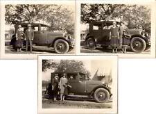 Man & Women with 1928 Chevy Chevrolet National AB Coach Two-Door Sedan Photos -3