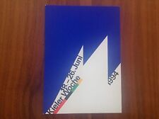 Kieler Woche 1994 Postkarte mit Zerstörer Mölders Stempel