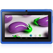7 pulgadas Q88H Android 4.4 Tablet PC WVGA de 4GB ROM Cámaras duales Azul