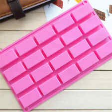 Silicone MoldIce Cube Candy Chocolate Cake Cookie Cupcake Soap Mold Mould DIY LJ