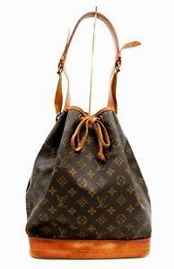 【Rank B】Auth Louis Vuitton Monogram Noé Shoulder Bag Hand Bag M42224