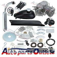NEW  Black 80cc Bike 2 Stroke Gas Engine Motor Kit DIY Motorized Bicycle