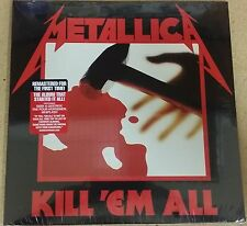 Metallica KILL 'EM ALL Debut Album 180g +MP3s REMASTERED New Sealed Vinyl LP