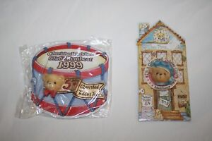 5 Year Member Cherished Teddies Bear Club Membership PIN CRT124 CT305 1999 1995