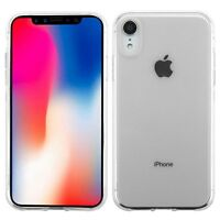 """For Apple iPhone XR Case 6.1"""" Silicone Crystal Clear Bumper Gel iPhone 10R Cover"""