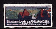 403839/ Reklamemarke - Villengelände im Isartal - Immobilien A.G. - München