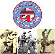 Close Quarter Fighting Dvd Home Study Course