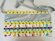 teacher apron alphabet