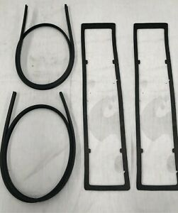 MAZDA RX7 S2 S3 SERIES 2 3 ROTARY REAR INNER & OUTER TAIL LIGHT GASKETS 4PC