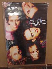 vintage The cure Faces rock poster original 1992  11523