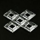 5PC Square Crystals Prism Chandelier Part Accessories Bead Curtain Suncatcher