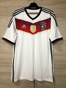 Germany Deutschland 2014-2015 Home Football Shirt Soccer Jersey World Champions