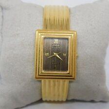 Vintage Annie Klein Gold Tone Lady's Bracelet Watch