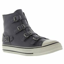 Womens Ash Virgin High Top Graphite Grey Trainers Shoes UK 8