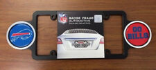 Buffalo Bills Plastic Badge License Plate Frame
