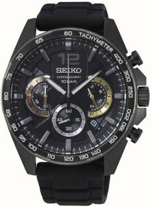 Seiko Gents Chronograph Date Display Watch SSB349P1 NEW