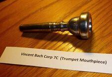 Vincent Bach Corp 7C  (Trumpet Mouthpiece)