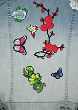 5pcs Embroidered Iron on, Sew on Patches for Clothes, Bag, Hat DIY