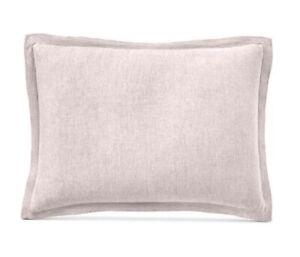 Hotel Collection Linen King Pillow sham Pink $135