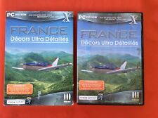 FRANCE DECORATION ULTA DETAILED ADD - WE FLIGHT SIMULATOR X 10 PC CD-ROM PAL