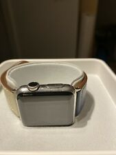 Stainless steel Apple Watch series 1. 38mm