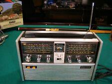 Vintage Montgomery Ward Airline Multi 10 Band HAM Shortwave AM/FM Radio GEN