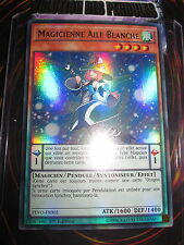 YU-GI-OH! ULTRA RARE MAGICIENNE AILE BLANCHE PEVO-FR005 EDITION 1 NEUF MINT