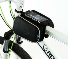 New Cycling Touch Case  Front Frame Bag Bike Bicycle Tube Pannier Double Pouch