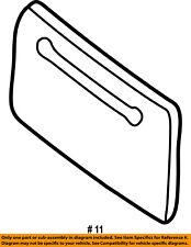 FORD OEM-License Plate Bracket Mount Holder F7UZ17A385ABW