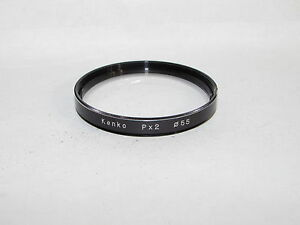 Used Kenko Px2 Close Up Macro 55mm Lens Filter Made in Japan O41006